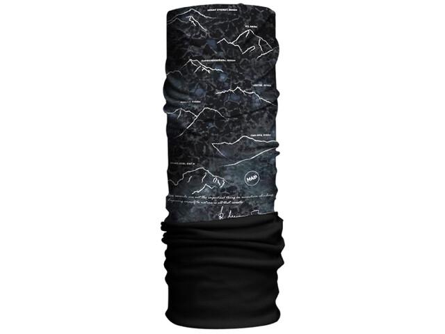 HAD Original Fleece Tour de cou, 8000plus by Reinhold Messner/black